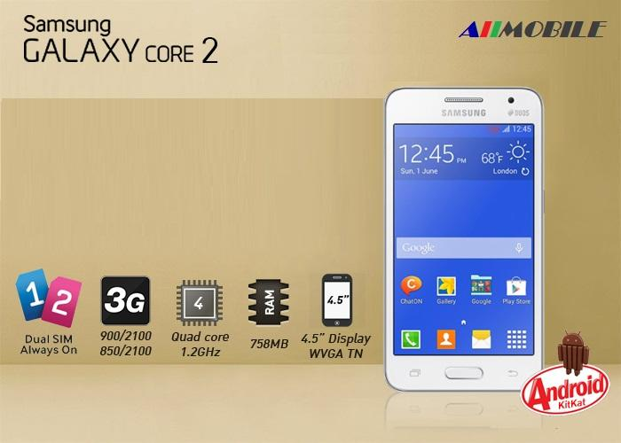 Spesifikasi Dan Harga Samsung Galaxy Core 2 Terbaru
