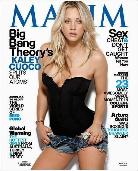 Kaley Cuoco Maxim Modeling