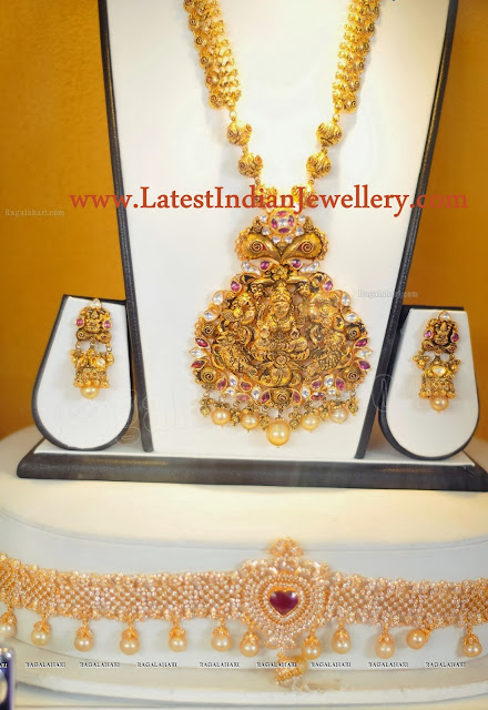 Temple Jewellery Waist Belt Set