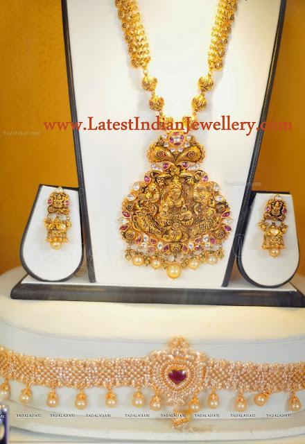 Temple Jewellery Waist Belt Set