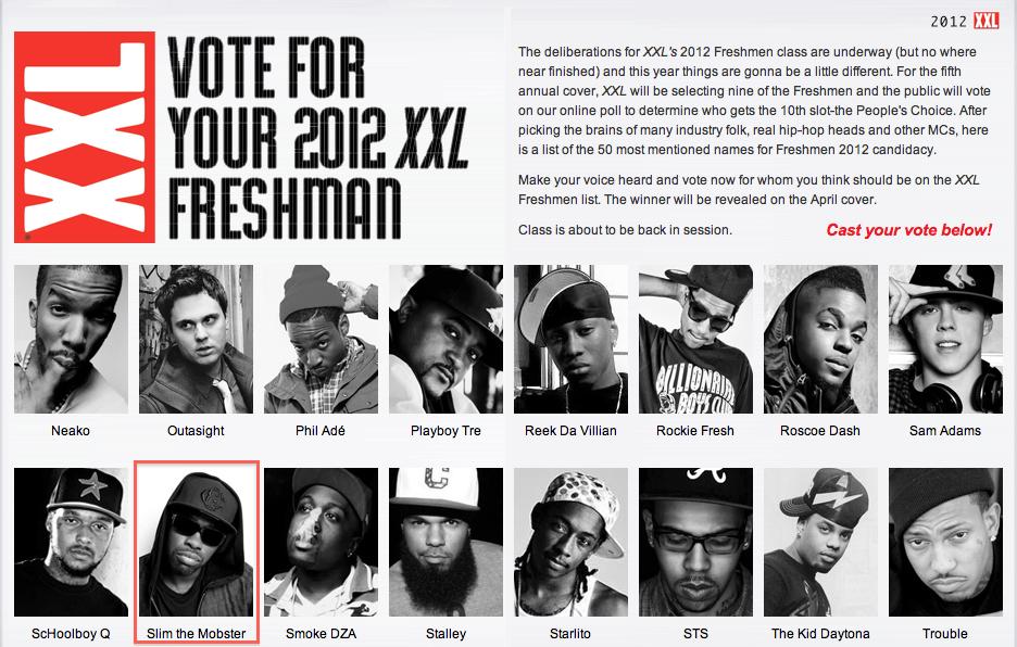 XXL FRESHMAN 2012Xxl Freshman 2012