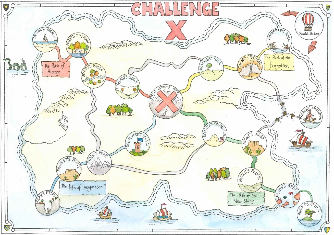 Come Adventure on Challenge Island!