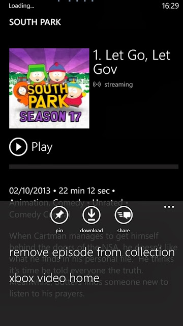 Microsoft libera xbox video para windows phone