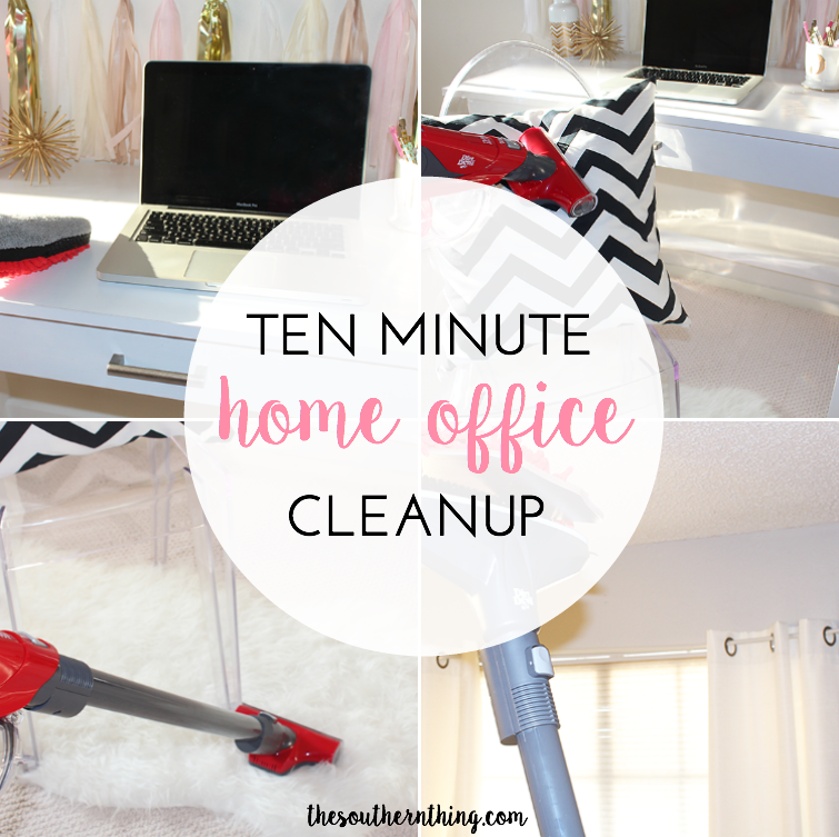 Ten Minute Home Office Cleanup