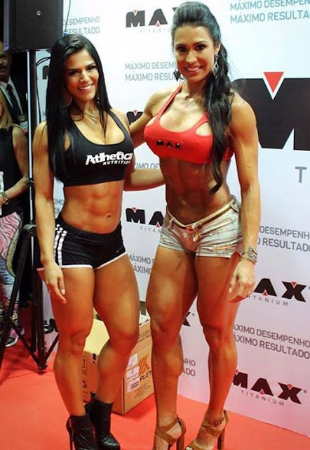 Eva Andressa and Gracyanne Barbosa