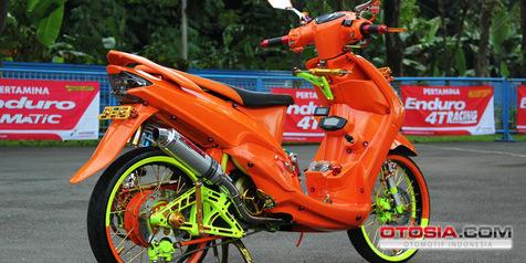 Yamaha Mio Sporty Tampil Lebih 'Ngejreng'