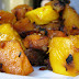 Mango,butternut squash and hash with bacon