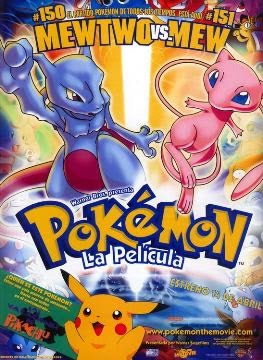 Pokemon Mew vs Mewtwo (1999) 3GP