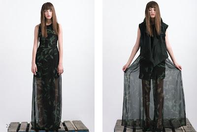 Ana Kalacoska for Risto Bimbiloski Collection S/S 2012