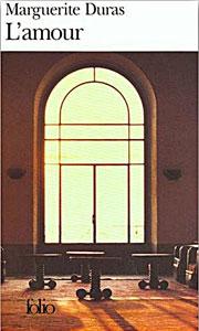 Portada francesa de El amor, de Marguerite Duras