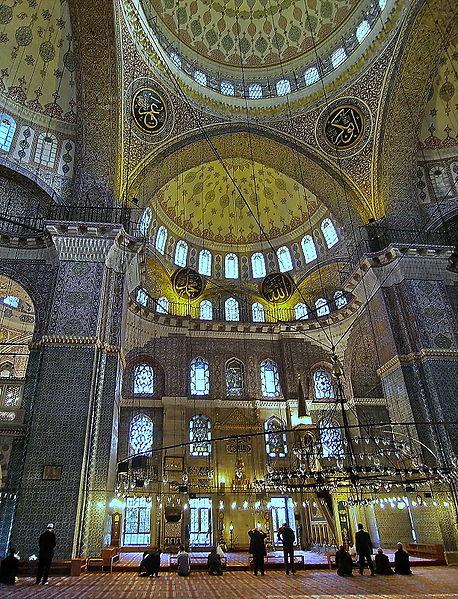 معلومات عن جامع السلطان أحمد في اسطنبول
