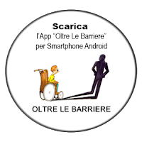"Scarica l'App ""OLTRE LE BARRIERE"""