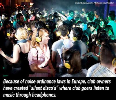 Silent disco craze spreads