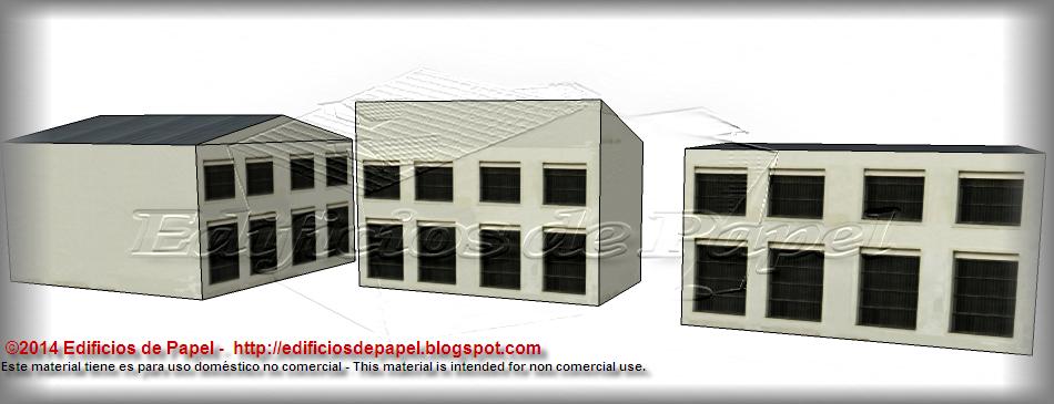 Fachadas posteriores y laterales