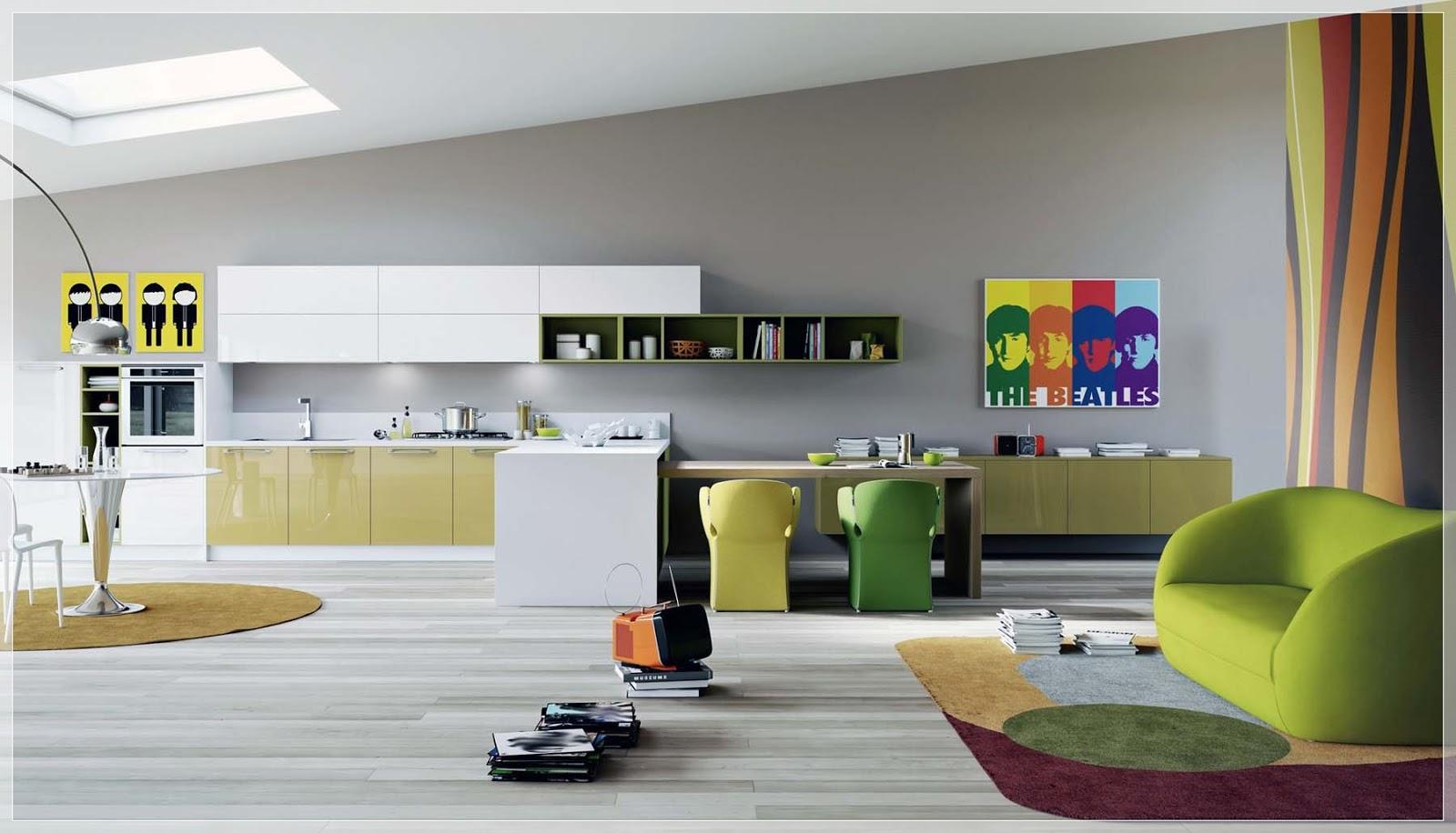 Kjøkken design som   interiør inspirasjon