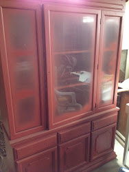In the works RED hutch $250