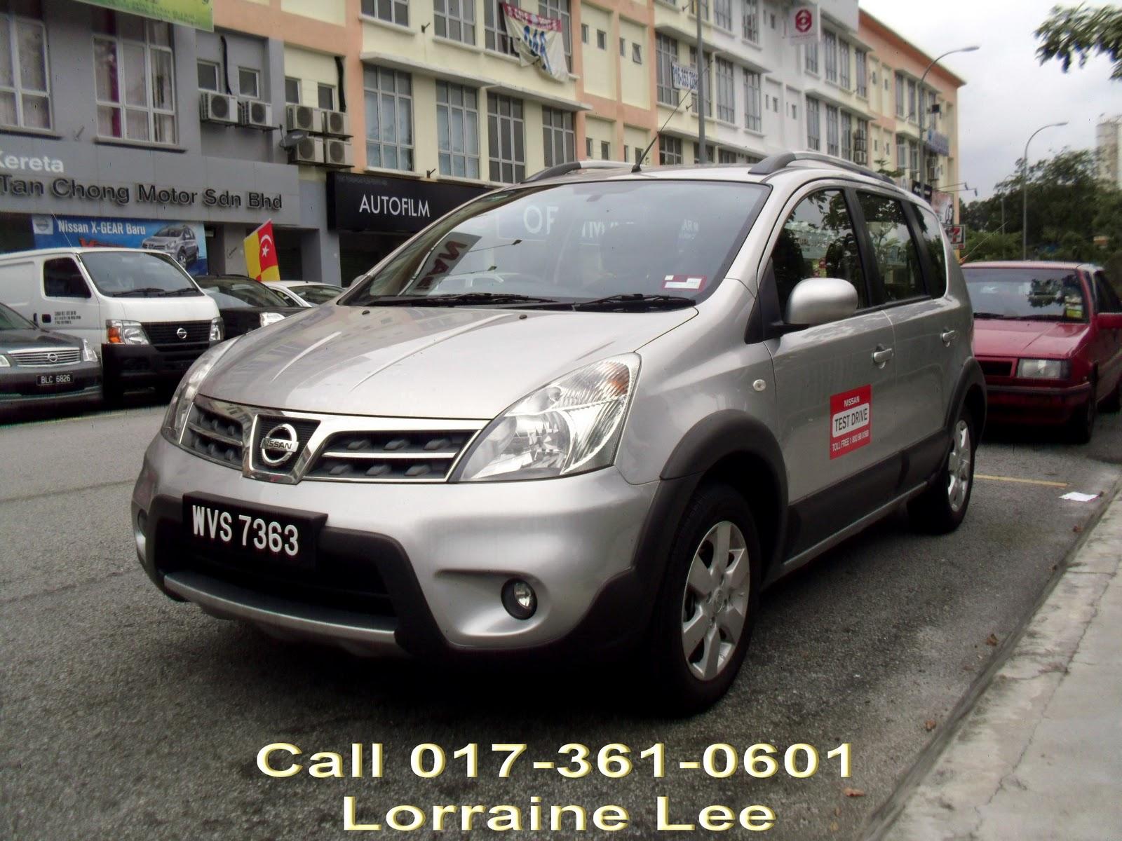Nissan Livina X Gear 1 6L A T RM82 800   Nissan Impul Malaysia