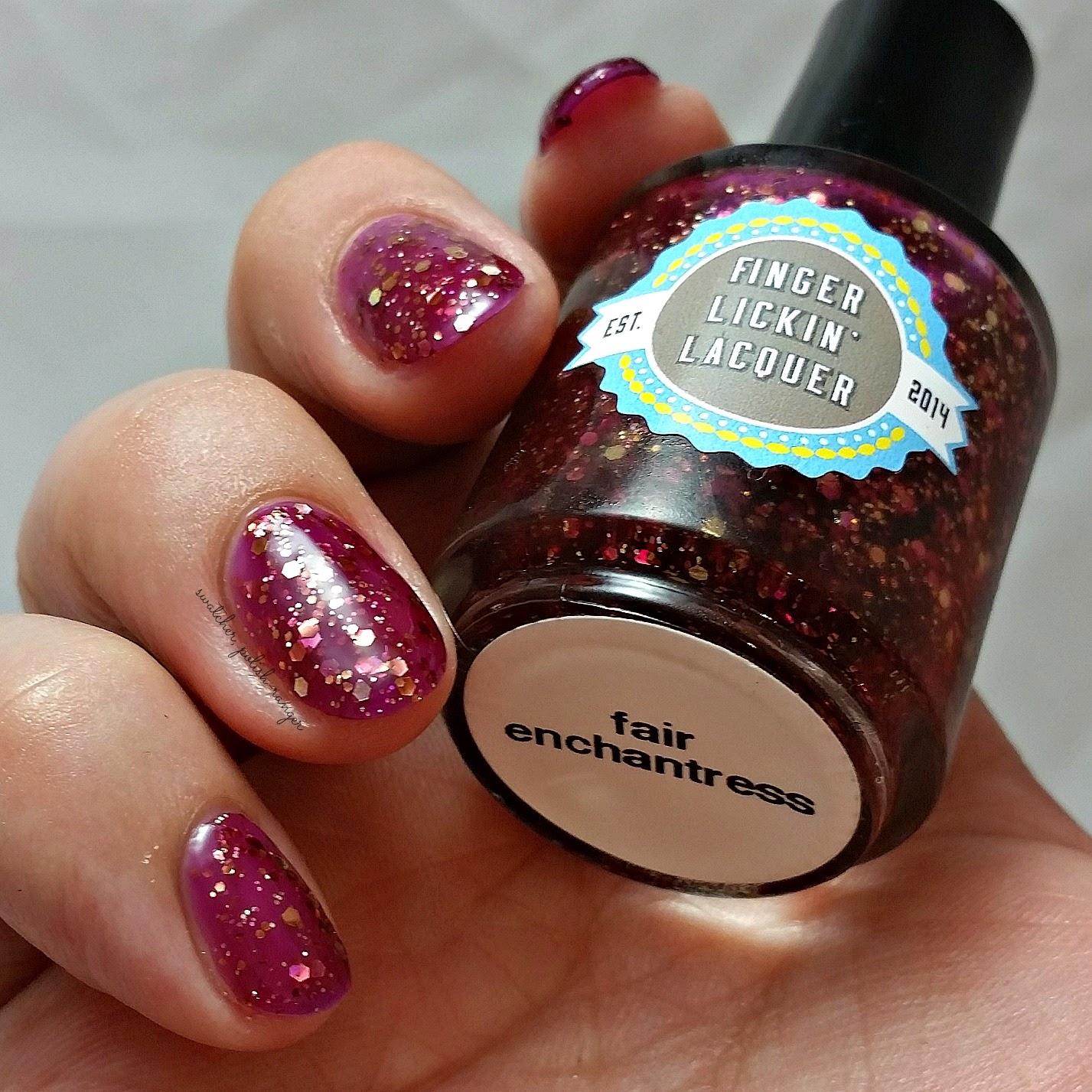 swatcher, polish-ranger | Finger Lickin Lacquer Fair Enchantress swatch