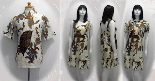 PO A32 MODEL BAJU BATIK WANITA MODERN