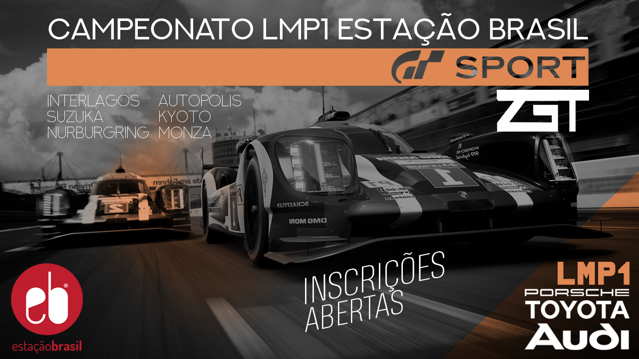 CAMPEONATO LMP1 GTSPORT PS4