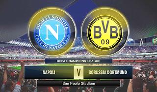 Napoli vs Dortmund