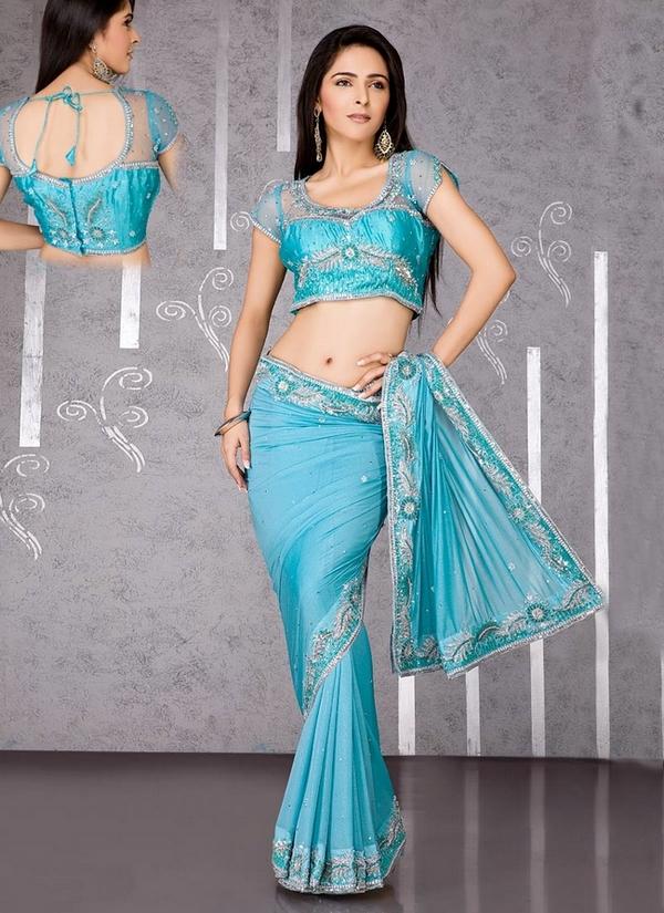 saree blouse designs 20112012 queen of heaven