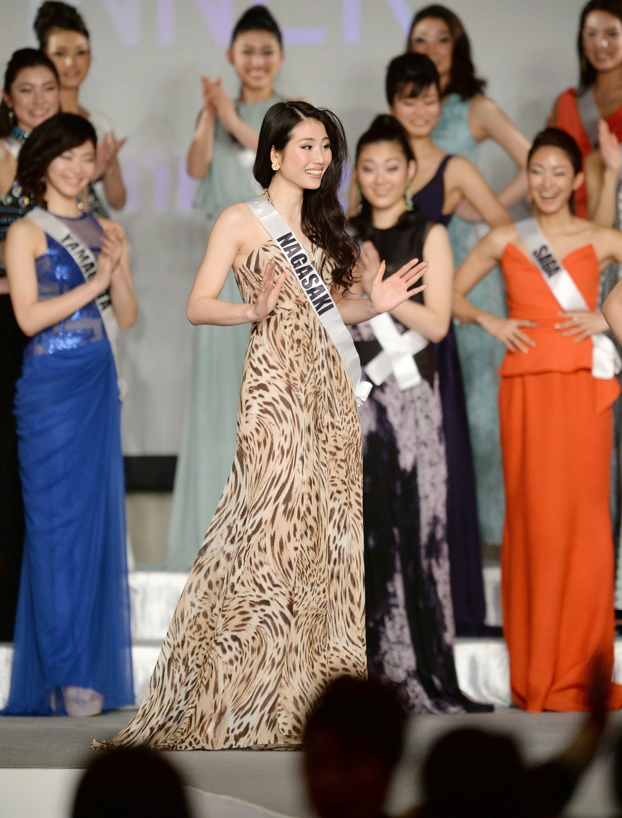 Beauty, Beauty Pageant, College Girl, Crowned, Entertainment, Japan, Japan Beauty Pageant, Keiko Tsuji, Miss Universe 2014, Tokyo, Winner of Miss Japan,