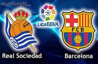 قنوات ناقلة مباراة برشلونة وريال سوسيداد الدوري الاسباني مفتوحة مجانا barcelona vs real sociedad