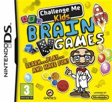 Challenge Me Kids Brain Games   Nintendo DS