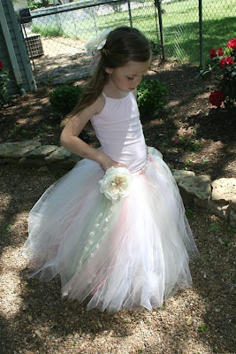 white lace ball gown flower girls dress