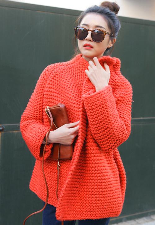 Kstylick Latest Korean Fashion K Pop Styles Fashion Blog Stylenanda Open Knit Coat