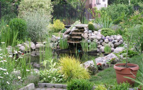 Merancang Hiasan Air Di Taman Rumah