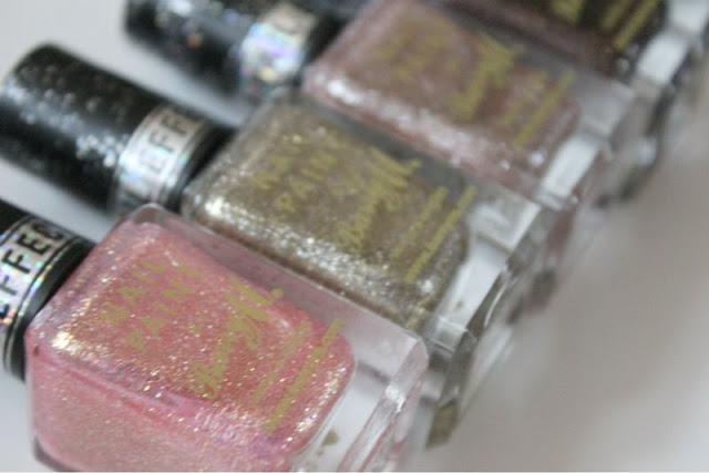 Barry M The Royal Glitter Nail Paints Collection