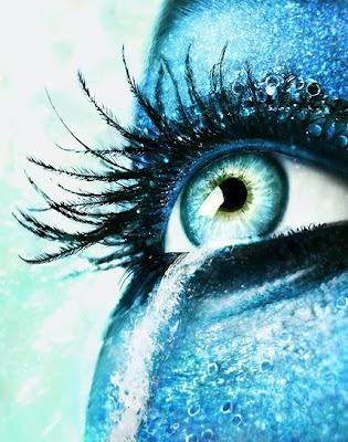 foto acuario en ojo
