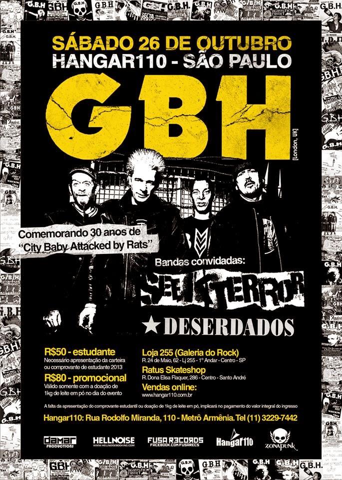 GBH em São Paulo