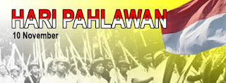 Gambar Selamat Hari Pahlawan 10 November DP BBM PP Semangat Kemerdekaan