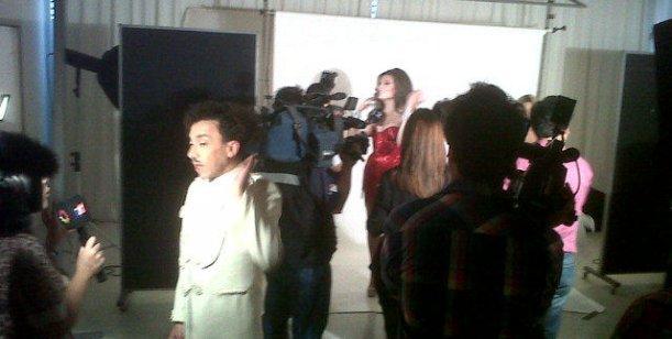 El backstage de la marquesina del espect culo de florencia for Ratingcero noticias del espectaculo