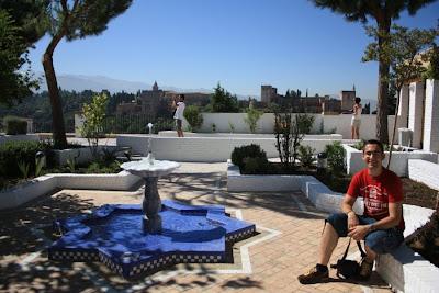 New Mosque of Granada in Albaicín