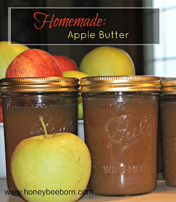 How to make homemade apple butter