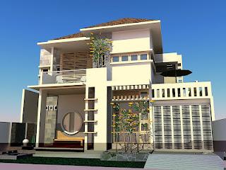 Bentuk Desain Rumah on Online Renovasi Desain Bangun Baru Rumah Bangunan  Rumah Minimalis