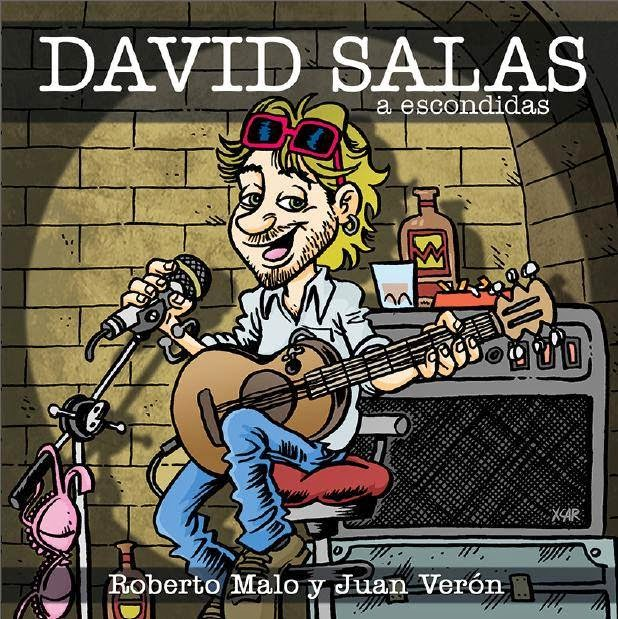 CD CON 12 CANCIONES DE DAVID SALAS