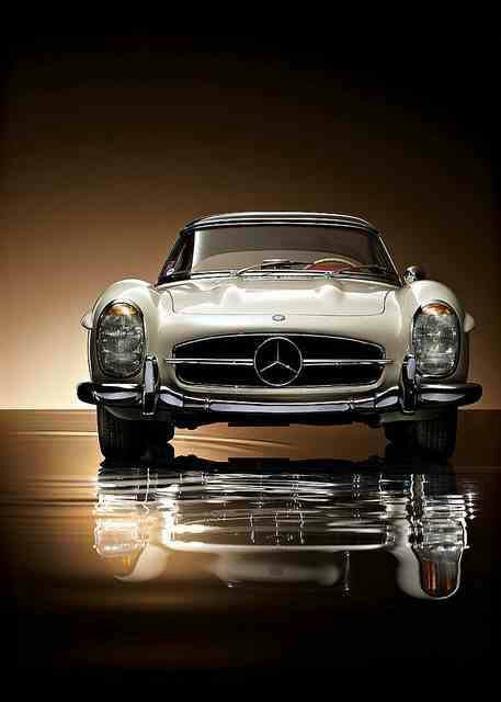 Car bike fanatics classic vintage mercedes benz sls amg for Vintage mercedes benz