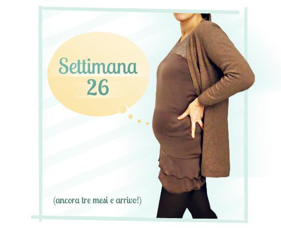 26 settimane di gravidanza