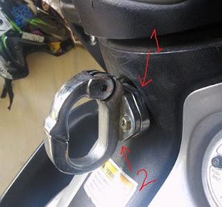 Cara Memasang Aksesoris Gantungan Barang di Motor