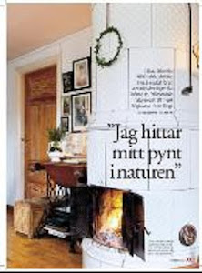 """Lisas Hus finns med i Aftonbladets inredningsbilaga """"Härligt Hemma"""""""