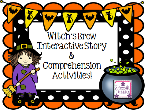 ... Time Fun: Witch's Brew: Interactive Story & Comprehension Activities