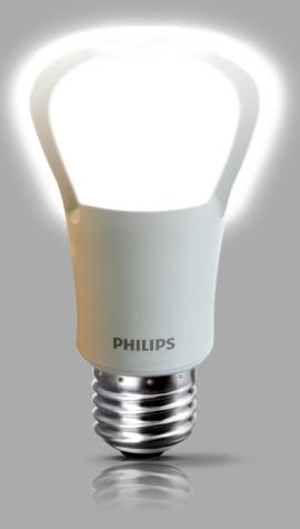 Minha Alegre Casinha: Lâmpada LED Philips de 75W