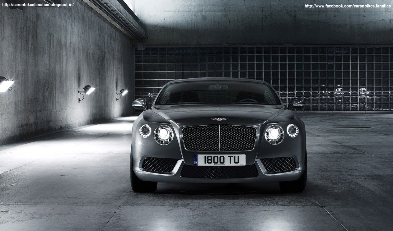 Car Amp Bike Fanatics 2013 Bentley Continental Gt V8 Wallpaper