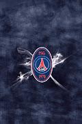 PSG football club iphone wallpaper
