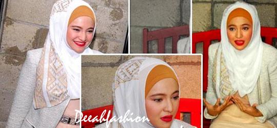 Marshanda Setelah Lepas Jilbab HappyFree